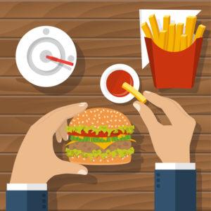 Entenda como a má alimentação afeta no rendimento do seu time